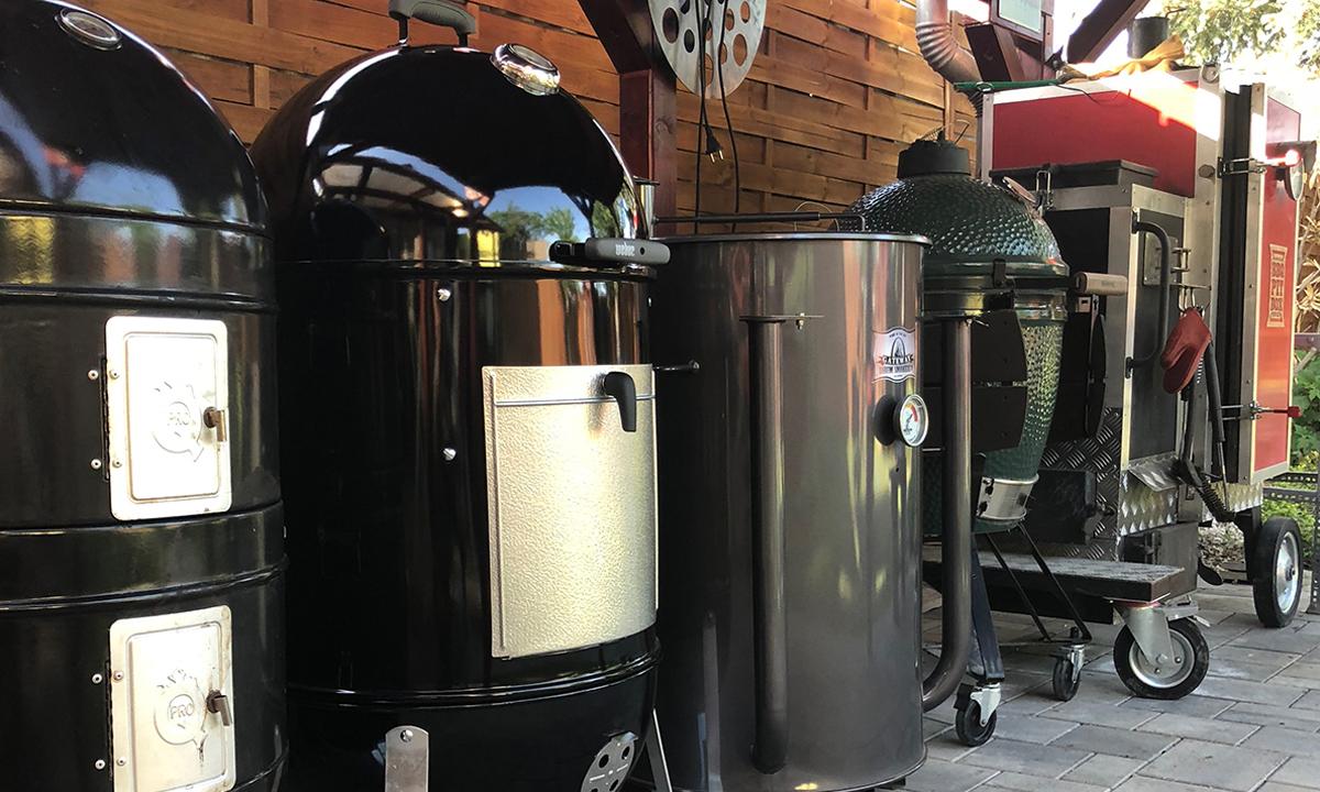 Szmokerek, grill eszközök